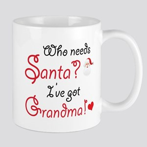 Who needs Santa? Mug