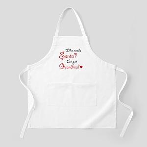 Who needs Santa? Apron