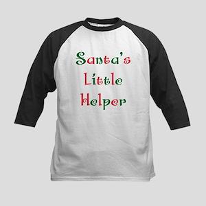 Santa's little helper Kids Baseball Jersey