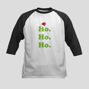 Ho.Ho.Ho. Kids Baseball Jersey