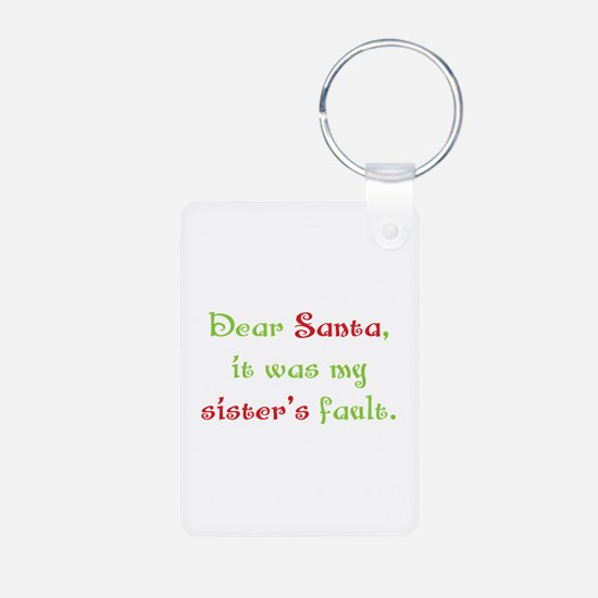 Dear Santa Keychains