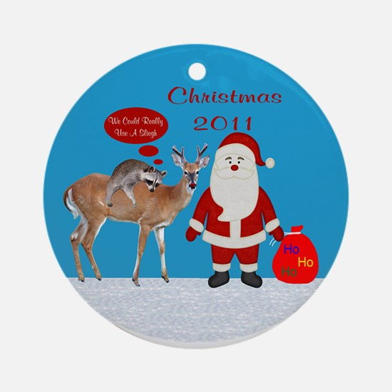 2011 Christmas Ornament (Round)