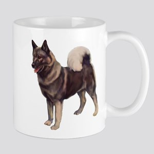 Norwegian elkhound Portrait Mug
