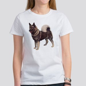 Norwegian elkhound Portrait Women's T-Shirt
