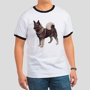 Norwegian elkhound Portrait Ringer T