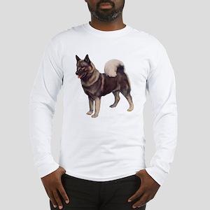 Norwegian elkhound Portrait Long Sleeve T-Shirt