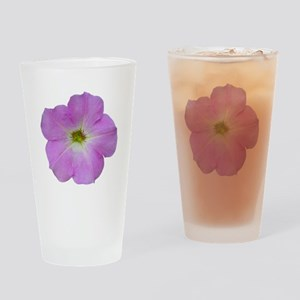 Petunia Drinking Glass