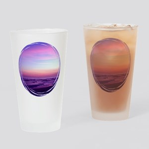 Streaked Sky Drinking Glass