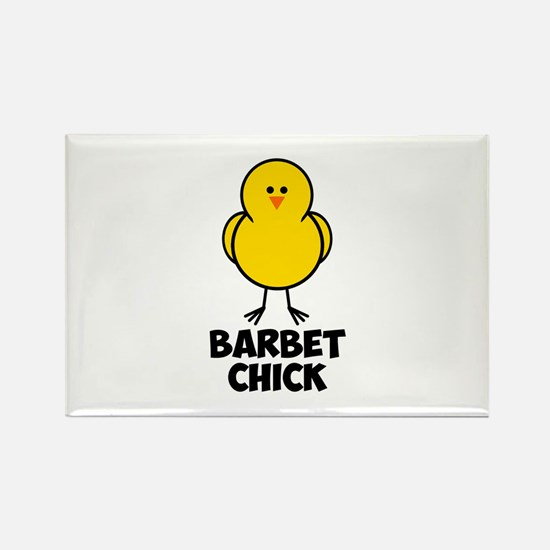 Barbet Chick Rectangle Magnet