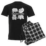PeRoPuuus Men's Dark Pajamas