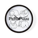 PeRoPuuus Wall Clock