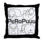 PeRoPuuus Throw Pillow