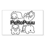 PeRoPuuus Sticker (Rectangle 50 pk)