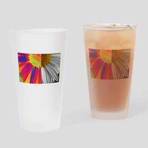 halfway daisy - all color Drinking Glass
