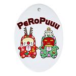 PeRoPuuu10 Ornament (Oval)