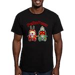PeRoPuuu10 Men's Fitted T-Shirt (dark)