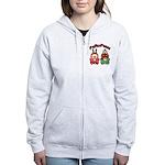 PeRoPuuu10 Women's Zip Hoodie