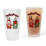 PeRoPuuu10 Drinking Glass