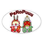 PeRoPuuu10 Sticker (Oval)