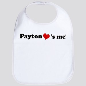 Payton loves me Bib