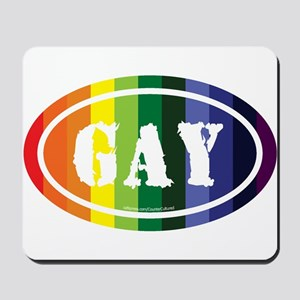 Gay Euros Mousepad