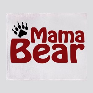 Mama Bear Claw Throw Blanket