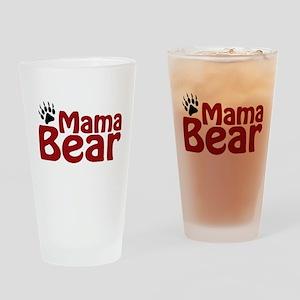Mama Bear Claw Drinking Glass