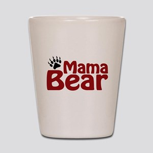 Mama Bear Claw Shot Glass