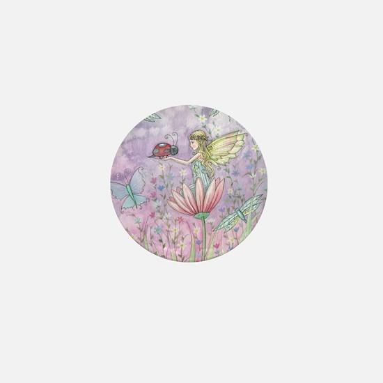 Cute Little Fairy Mini Button
