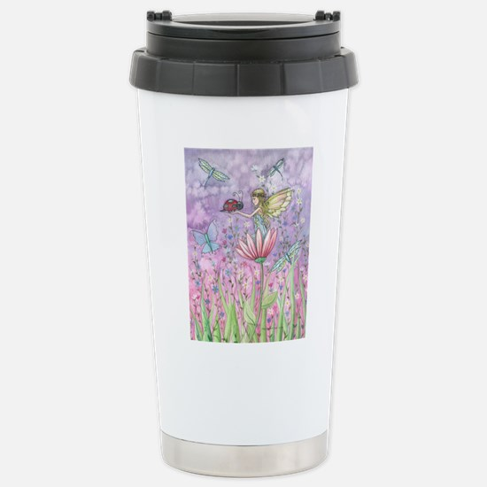 Cute Little Fairy Stainless Steel Travel Mug