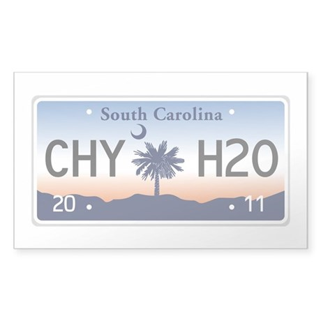 Chilly Water Sticker (Rectangle)
