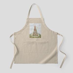 Birds-Christmas tree - Apron