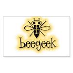 Beegeek Sticker (Rectangular)