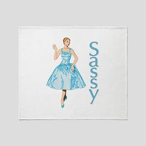 Sassy Throw Blanket