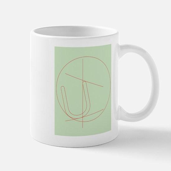 Letter U Mug
