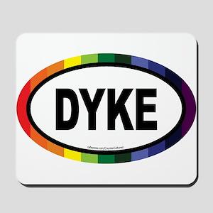 Dyke Euros Mousepad