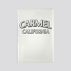 Carmel California Rectangle Magnet