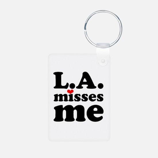 LA Misses Me Keychains