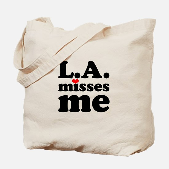 LA Misses Me Tote Bag