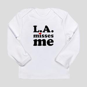 LA Misses Me Long Sleeve Infant T-Shirt