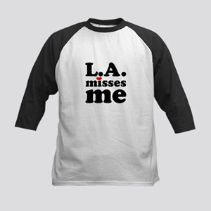 LA Misses Me Kids Baseball Jersey