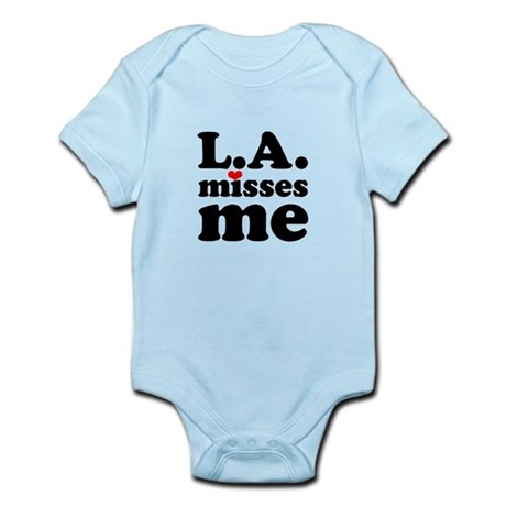 LA Misses Me Infant Bodysuit