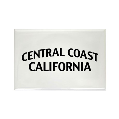 Central Coast California Rectangle Magnet