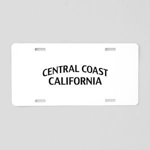 Central Coast California Aluminum License Plate