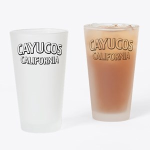 Cayucos California Drinking Glass