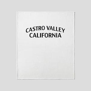 Castro Valley California Throw Blanket