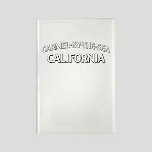 Carmel by the Sea California Rectangle Magnet