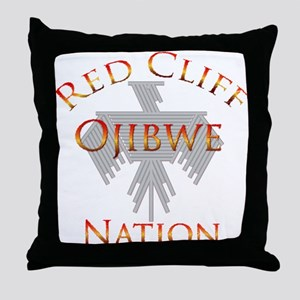 Red Cliff Ojibwe Nation Throw Pillow