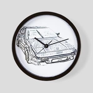 Toyota Mr2 Wall Clock