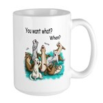 U Want Shat Large Mug